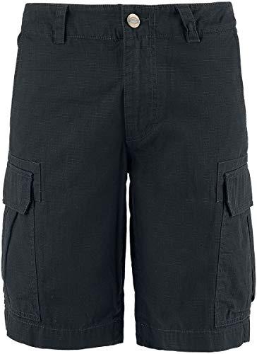 Dickies New York Short, Pantalones Cortos de Deporte, Hombre, Negro(Black), W32