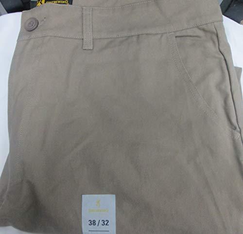 Browning Men's Sentinel Pant 38X32 Pine Bark