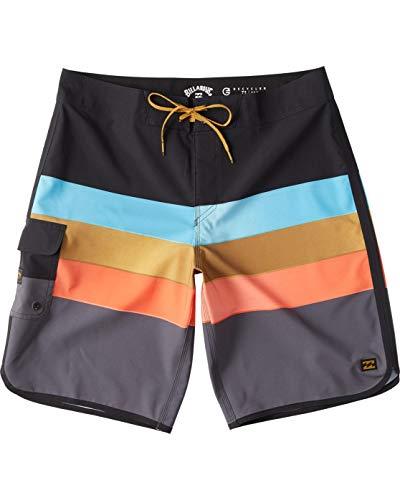 BILLABONG™ - Bañador de Surf de pantalón de Rayas - Hombre - 32 - Negro