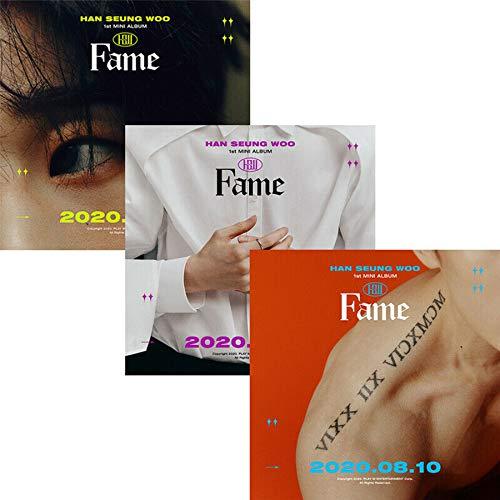 HAN SEUNGWOO FAME 1st Mini Album ZUFÄLLIG VER. CD + POSTER + Fotobuch + Buch + 3 Karten + etc + TRACKING DODE K-POP VERSIEGELT