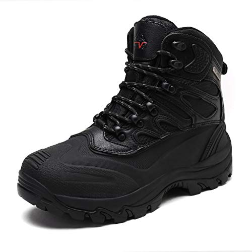 ARCTIV 8 Men's 2161202 Black Insulated Waterproof Work Snow Boots Size 10.5 M US