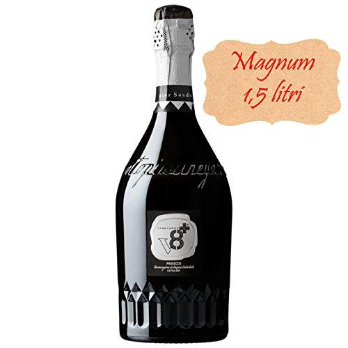 Sior Sandro Prosecco DOC Extra Dry V8+ Spumanti Vineyards Vino Spumante Dry MAGNUM 1,5 lt. Italienischer Sekt