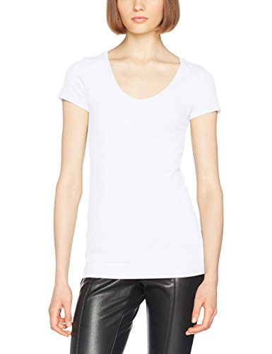 G-STAR RAW Damen Base R T Wmn Cap Sl T-Shirt, Weiß (White 110), Large