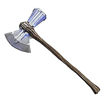 Avengers Marvel Endgame Marvel Legends Stormbreaker Electronic Axe Thor Premium Roleplay Item with Sound FX for Fans Collectors and Adults