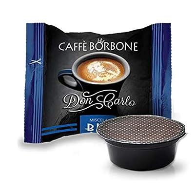 300 Capsules Compatible Lavazza a Modo Mio Caffe' Borbone Don Carlo Blue Blend