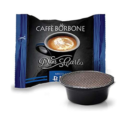 Capsule caffè Borbone Don Carlo blu compatibili a modo mio pz. 50 100 200 300 400 500 (400)