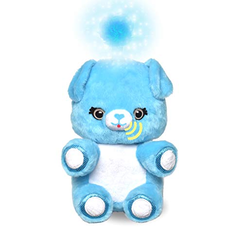 Fuzzible Friends Cuddles The Puppy Plush Light Up Toy – Works with Compatible Amazon Echo Devices for Interactive Activities and Sounds – Amazon Exclusive