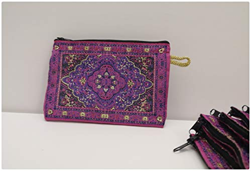 Monedero turco/mini bolsa tocador – bordado