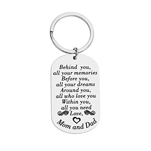 New Journey Keychain Inspirational Gifts for Him Her Teens Students...
