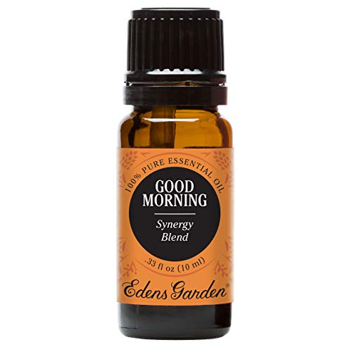 Edens Garden Good Morning Essential Oil Synergy Blend, 100% Pure Therapeutic Grade (Energy & Stress) 10 ml