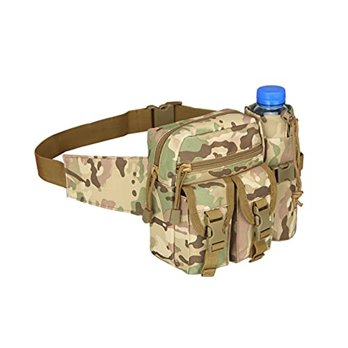 YUMYANJIN Bolso de Cosméticos Paquete de Cintura Nylon Senderismo Botella de Agua Bolsa de teléfono Deporte al Aire Libre Caza Escalada Camping Bolsas de Pecho Almacenamiento (Color : 8)