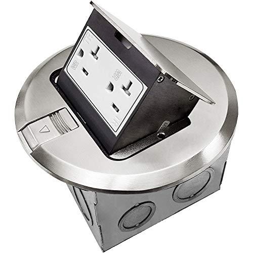 ENERLITES Round 961501-S Floor Box Kit