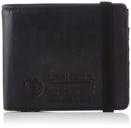 Element Endure L. II Wallet for Men, Reisezubehör für Herren, Schwarz - Schwarz - Größe: One Size