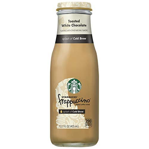 Starbucks Frappuccino Crafted With Cold Brew, Toasted White Chocolate, 13.7oz Bottle