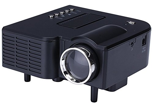 Mini Projetor Portatil 1920x1080 Led 60 pol Usb/ Sd Hdmi H80