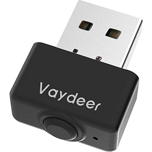VAYDEERスーパーミニマウスジグラーUSBポートマウスムーバー マルチトラックをサポートし、オン/オフスイッチとメモリ機能を備えたドライバーフリー、マウスの動きをシミュレートして、スリープ、プラグアンドプレイに入るのを防ぎます