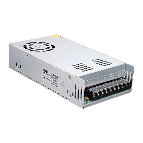 Alftek Schaltnetzteil AC zu DC 24V 20A 480W Spannungswandler für LED-Streifenlich