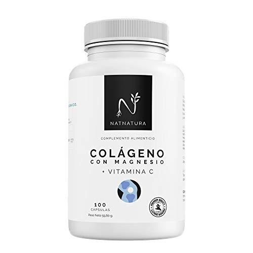 Colágeno con magnesio. Colágeno PEPTAN  marino hidrolizado+magnesio+Ácido...