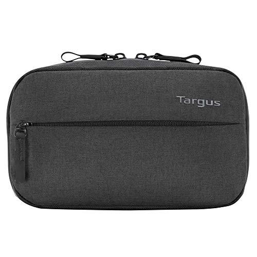 Targus CitySmart Tech TXZ02504GL Tasche für Geschäftsreisende und Schule, für Kabel/Federmäppchen, interne Organizer mit Reißverschluss, passend für Tablet und PC-Zubehör, Schwarz