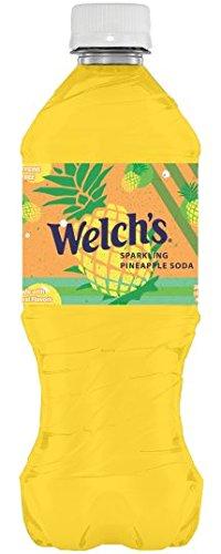 Welch's Sparkling Pineapple Soda 20 oz Bottle - Pack of 24