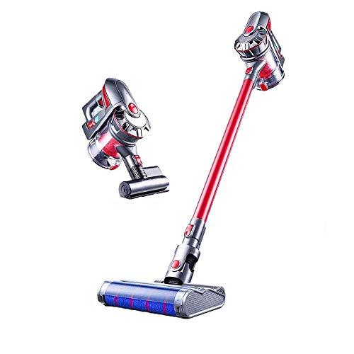 Best Price JTKDL Cordless Vacuum Cleaner, Super Suction Pet Hair Eraser, 2 in 1 Cordless Stick Vacuu...