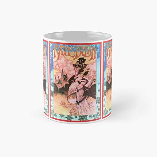 Taza clásica de Kate Bush | Mejor regalo divertido tazas de café 12 oz