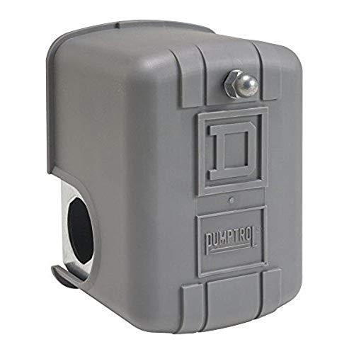 Platz D von Schneider Electric 9013fyg2j25air-pump Druck Schalter, NEMA 1, 60–80PSI Druck, 20–65PSI Ausschnitt, 15–30psi einstellbar Differential