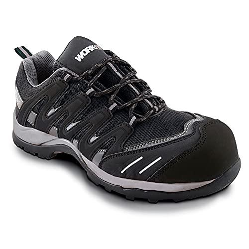 Zapato seg. workfit trail negro n.37