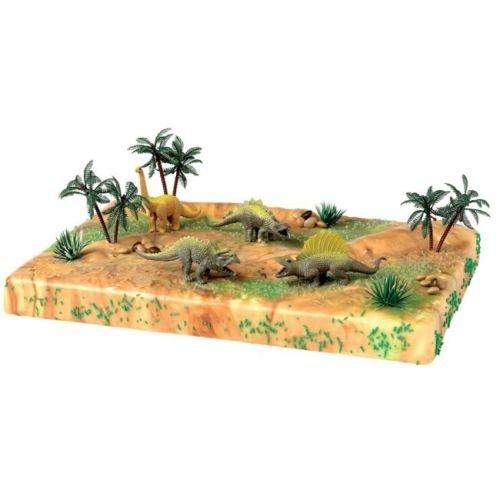 KIT DINOSAURI Cake Topper - Decorazioni in plastica per Torta