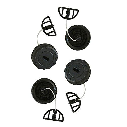 yipin Chapeau de Carburant de 4pcs pour des pièces de Moteur de tronçonneuse de STIHL 017 018 MS170 MS180