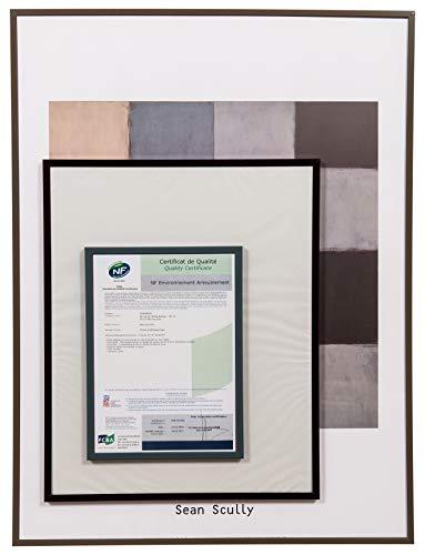 Frame voor tentoonstelling, Planorga, 50 cm x 70 cm, zwart