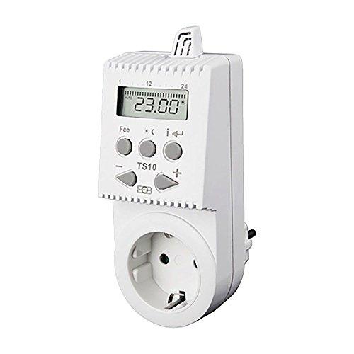 Knebel Thermostat TS10 für Steckdose programmierbar/digital, 230 V 16 A