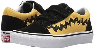 (バンズ) VANS キッズスニーカー?靴 Old Skool V x Peanuts (Little Kid/Big Kid) (Peanuts) Charlie Brown/Black 4 Big Kid 22cm M [並行輸入品]