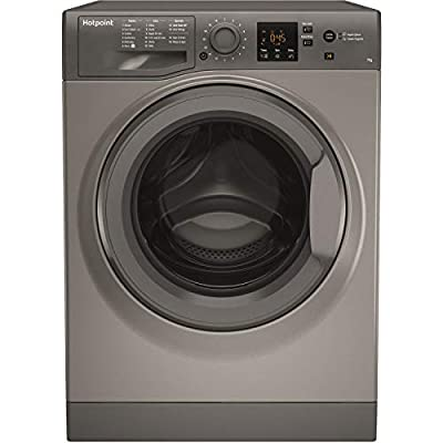 Hotpoint NSWM743UGGUK 7Kg Washing Machine with 1400 rpm - Graphite - A+++ Rated