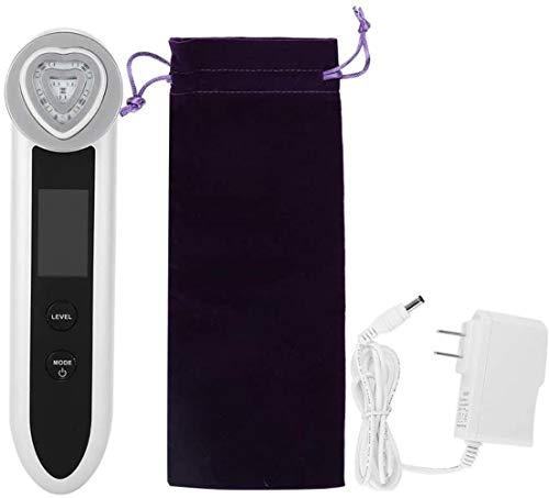FXNB RF Beauty Machine, Instrumento para El Rejuvenecimiento De La Piel Mediante Iontoforesis Led EMS con Modo De 2 Luces para Eliminar Las Arrugas Antienvejecimiento De La Cara, Productos para E
