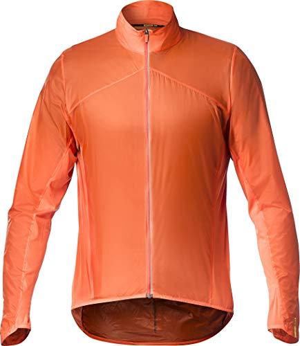 MAVIC Sirocco SL Jacke Herren red-orange Größe S 2020 wasserdichte Jacke