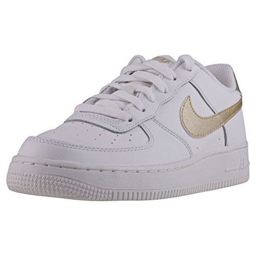 Nike Air Force 1 (GS), Scarpe da Basket Donna
