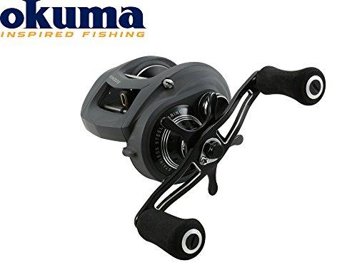 Okuma Komodo LP KDS-463LX - Low Profile Multirolle, Baitcaster zum Jerkbaitangeln, Multirollen zum Schleppangeln, Baitcaster Rolle
