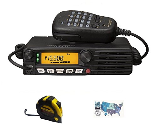 Bundle - 3 Items - Includes Yaesu FTM-3100R 144Mhz 65W FM Mobile Transceiver with The New Radiowavz Antenna Tape (2m - 30m) and HAM Guides Quick Reference Card. Buy it now for 189.95