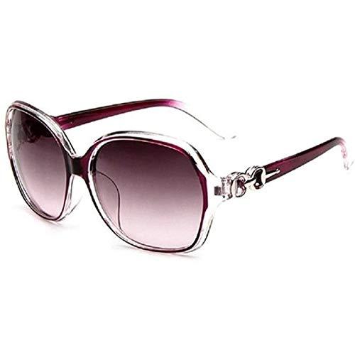 YIJIN Gafas de Sol para Mujer con Montura de Gafas Polarizadas, Gafas de Conducción de Pesca