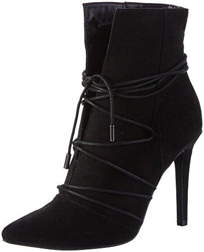 Bianco Damen Strap Boot 35-49050 Kurzschaft Stiefel, Schwarz (Black/10), 39