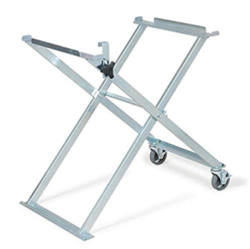 MK Diamond 169243 Saw Stand with Casters for MK-101 (151991), MK-101-24 (169612), MK-101 Pro (155747), MK-101 Pro24 (153243) and MK-1080 (153203) Tubular Frame Saws