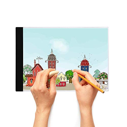 A4 A5 LED Drawing Light Pad, with Ultra-Thin Adjustable Brightness USB Power Light Box, Portable Copy Board for Diamond Painting, Sketching,Drawing,Animation,A5