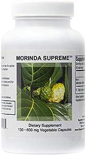 Supreme Nutrition Morinda Supreme 130 Whole Noni Fruit 600 mg Capsules | 1800 mg per Serving