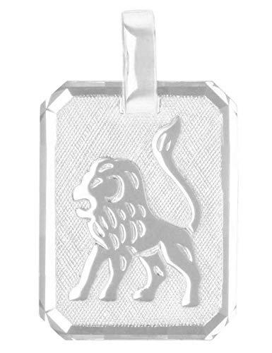 MyGold sterrenbeeld hanger leeuw (zonder ketting) sterling zilver 925 zilver 21mm x 12mm dierenriemteken horoscoop kettinghanger zilveren hanger Gaudino A-03303-S923-leeuw