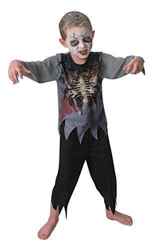 Rubies 's–Disfraz de oficial Zombie Boy niños grandes
