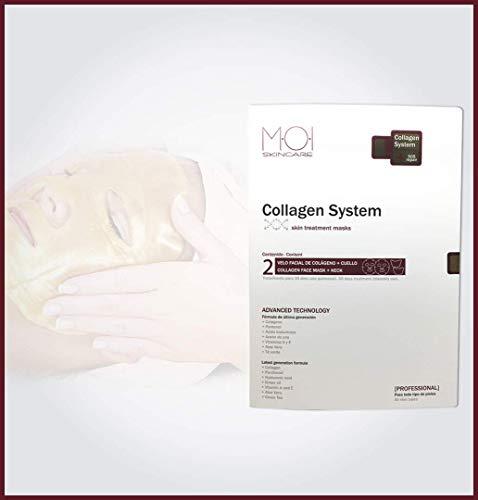 Tratamiento exclusivo COLLAGEN SYSTEM con 2 unidades de velo facial con colágeno M·O·I SKINCARE
