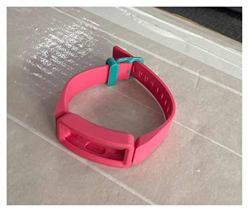 YNLRY 7 Color Silic Silicone Strap para Ace 2 Pulsera Reloj De Silicona Strap Inspire HR Protectora Shell Marco Pulsera Pulsera (Color : 14)