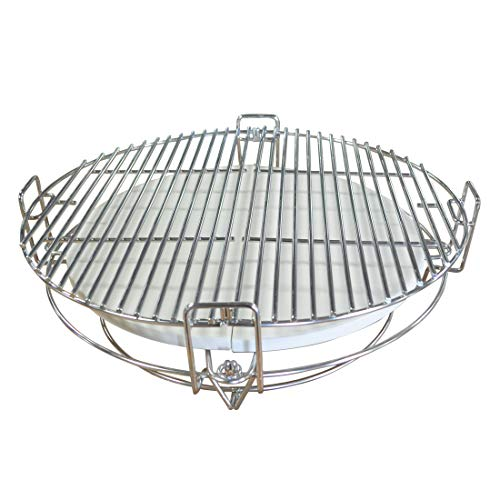Why Choose TITAN GREAT OUTDOORS Multi-Level Cooking System | for 15 UFO Kamado Grills