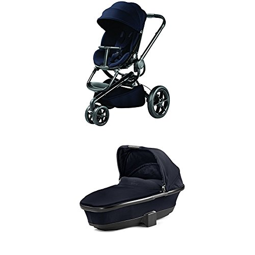 Quinny Kinderwagen Moodd, mit Babywanne, Midnight Blue